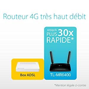 Vitesse routeur 4G LTE - Infographie de TP Link