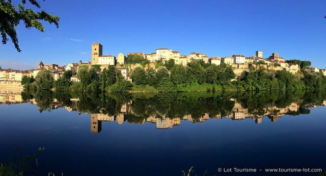 Cahors - Vallée du Lot © Lot Tourisme C. Novello