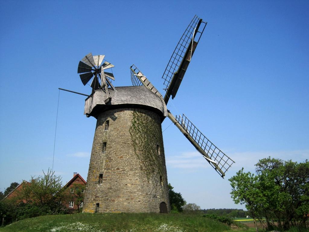 Seelenfelder Königsmühle von 1731 aus Bruchsteinen