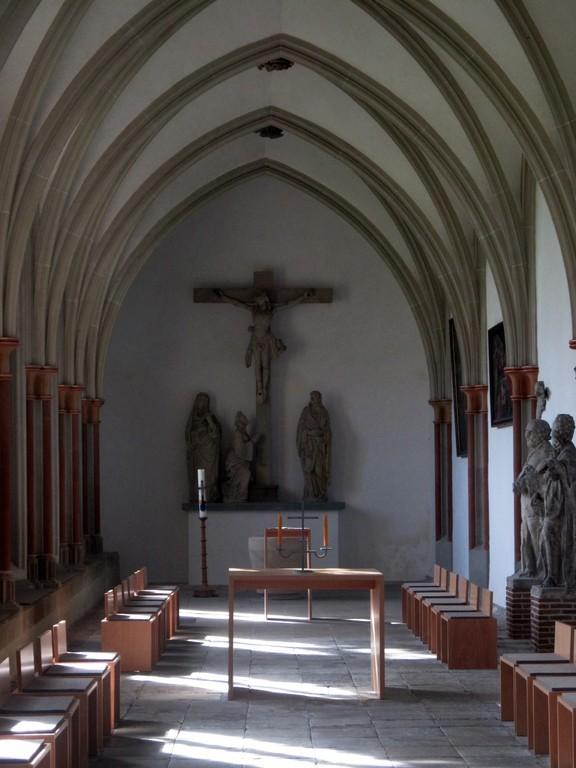 Gebetsraum im Kreuzgang
