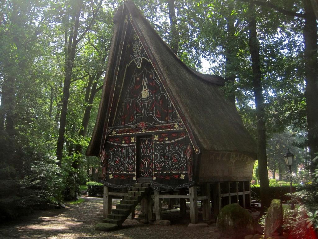 indonesisches Haus in Werpeloh