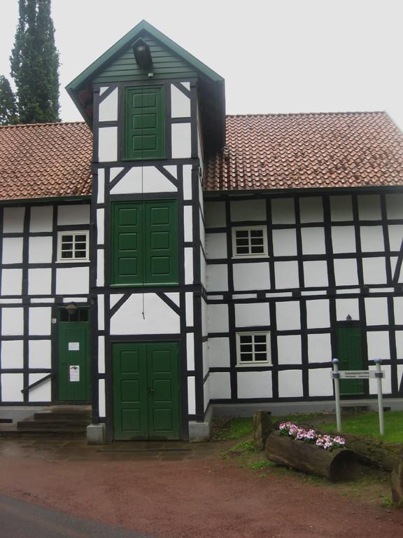 Guts-Wassermühle Holzhausen-Hudenbeck von 1888 an der Großen Aue