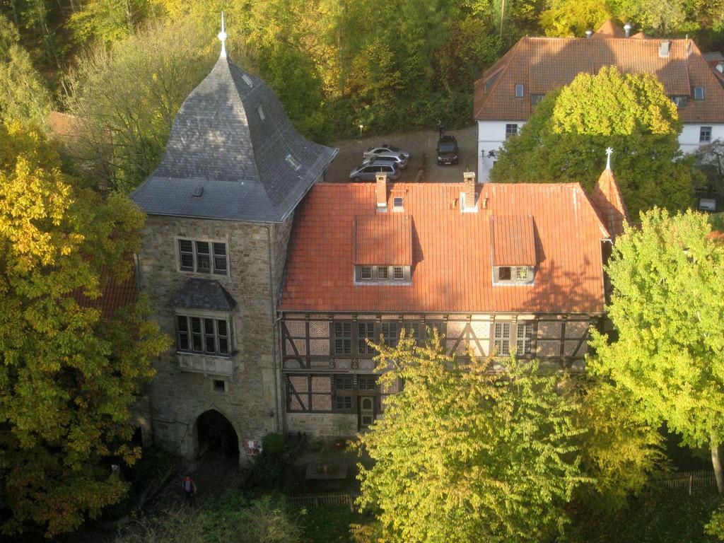 Tor- und Amtsstubenhaus der Burg Schaumburg