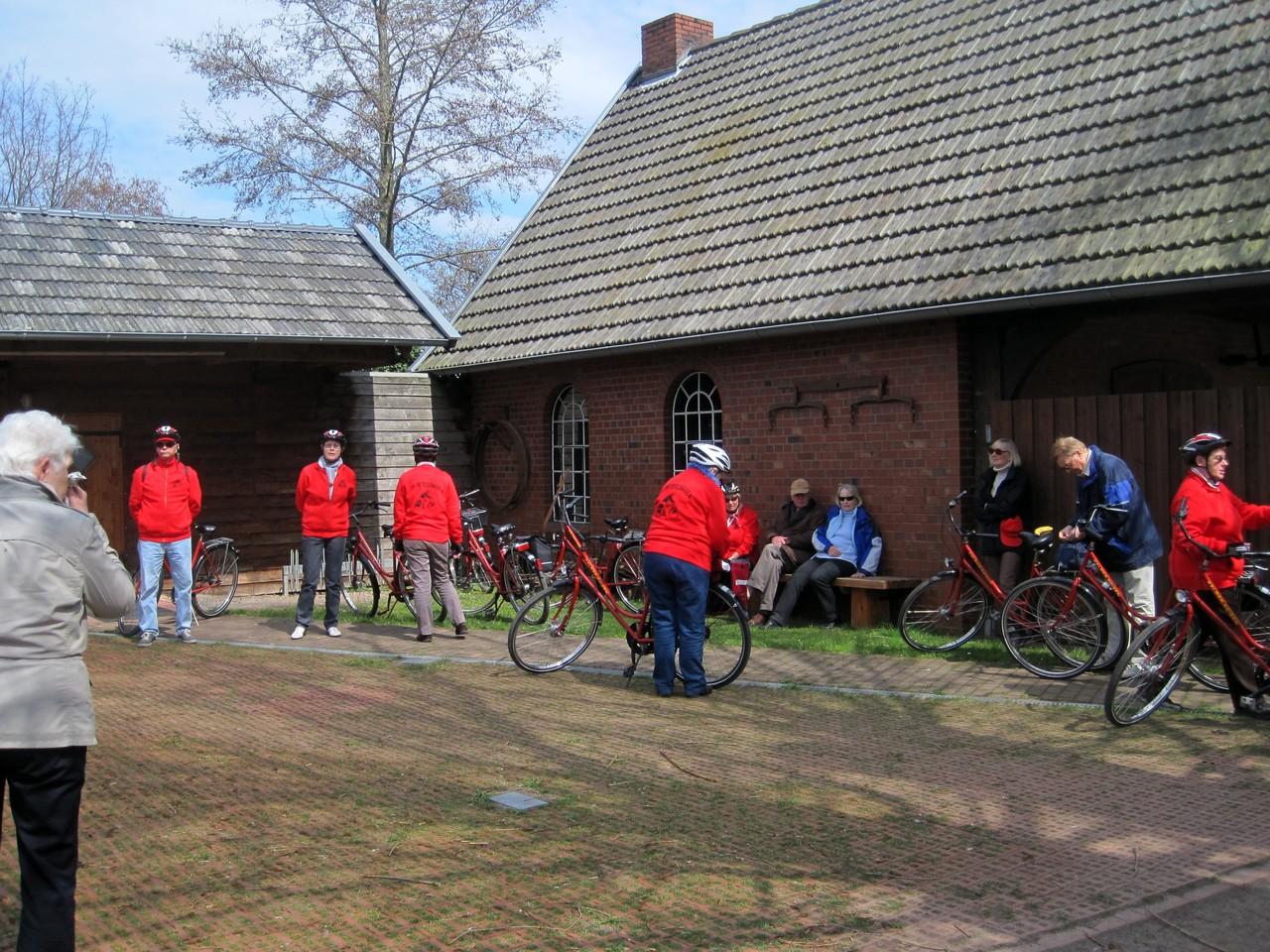 Pause an der Dorfschmiede in Harpenfeld
