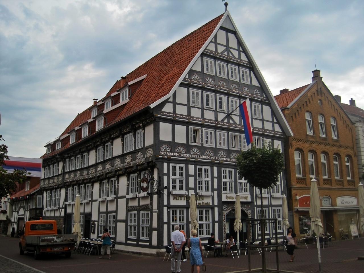 """Haus """"Zum Wolf"""" - Am Markt 8 in Stadthagen"""