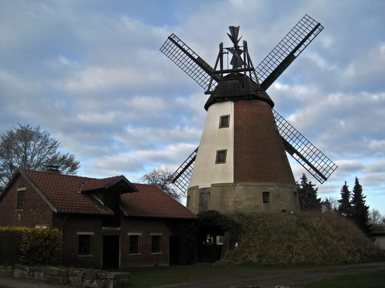 Windmühle Meißen - Wall-Holländer von 1869