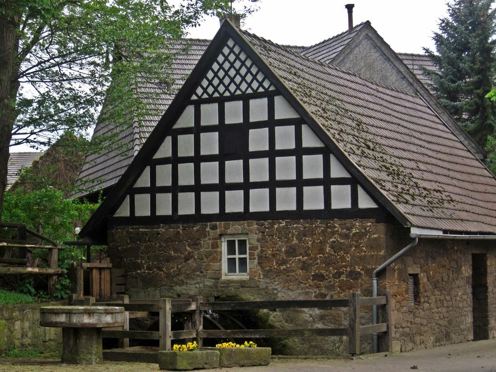 Wassermühle Eilhausen (von 1698) - bis in 1940er Jahre in Betrieb