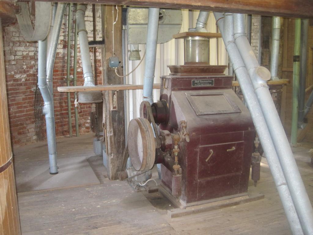 Mühlentechnik von Baumgarten - erneuert 1953