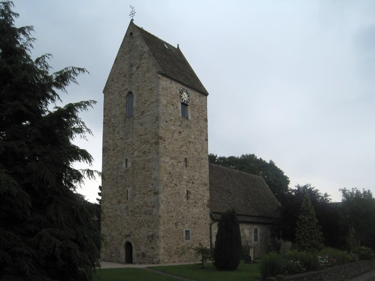 St. Matthaei - Wehrkirche aus dem 11. Jahrhundert