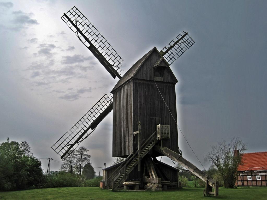 Bockwindmühle Wehe mit Stert - vor 1650