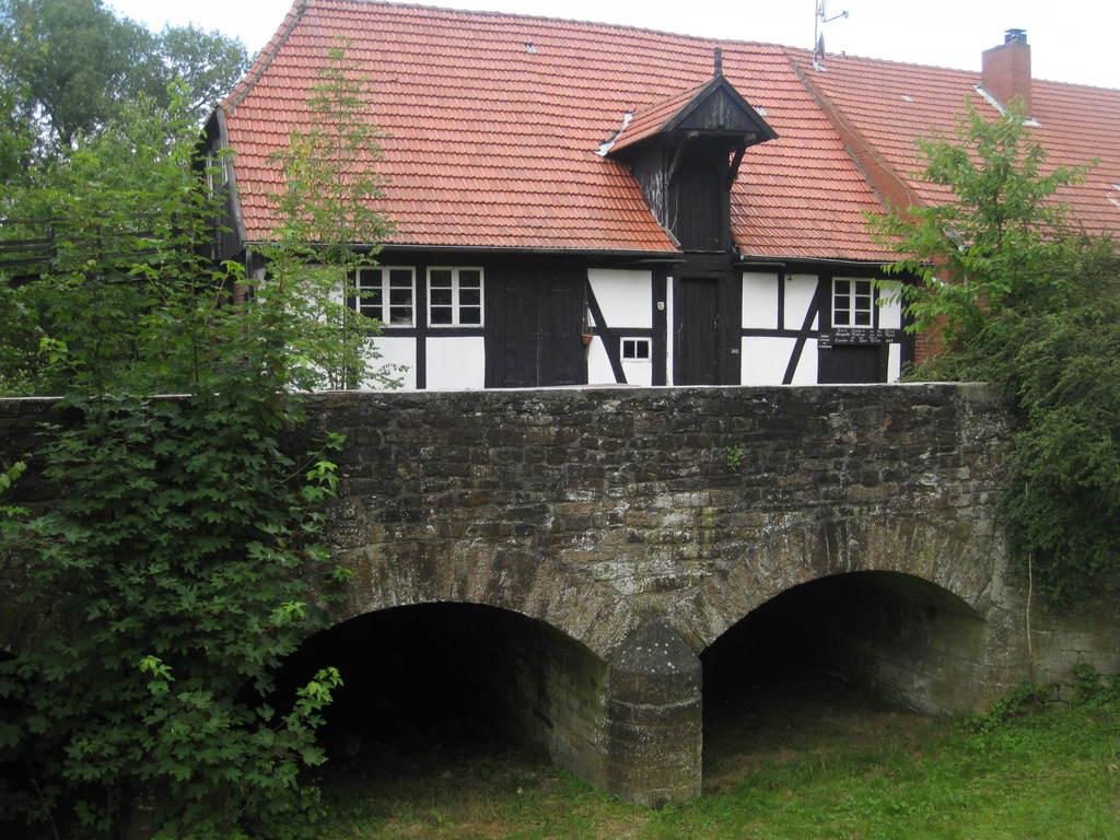 Ellerburger Mühle - Wassermühle in Fiestel von 1781