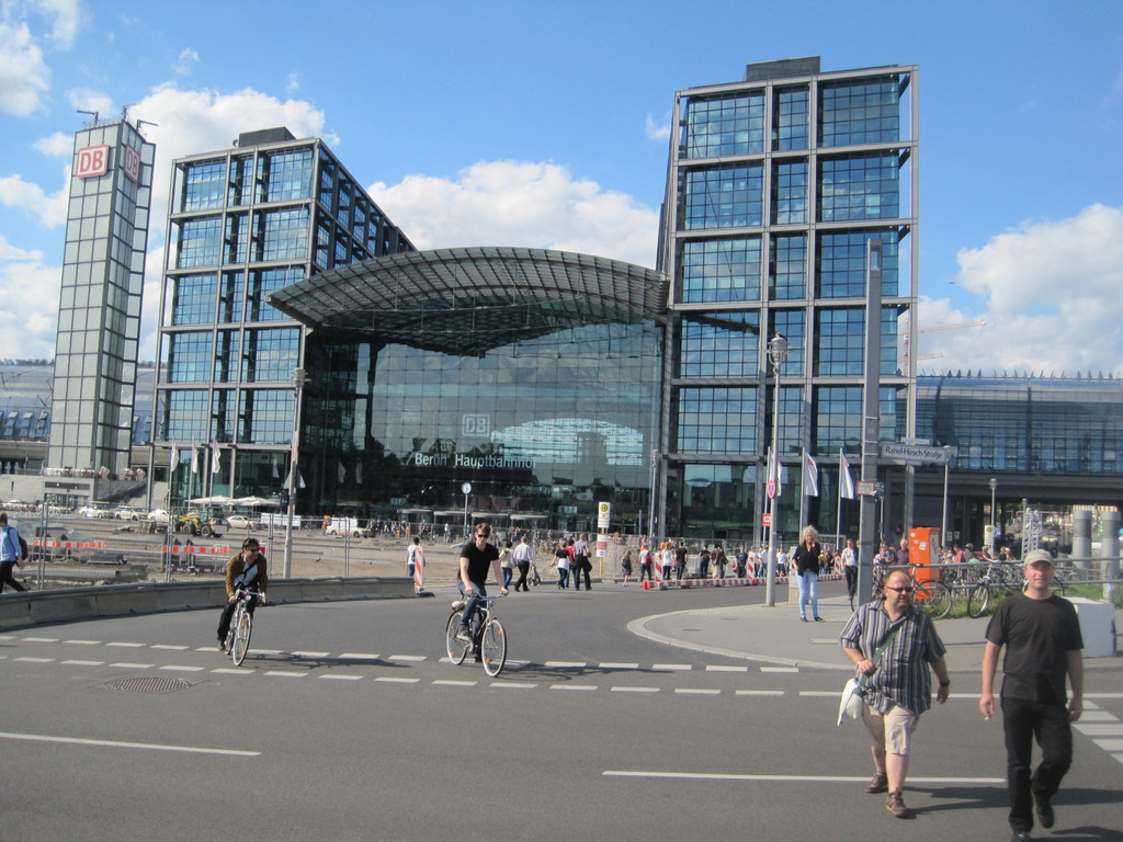 Lehrter Bahnhof - Berlins Hauptbahnhof