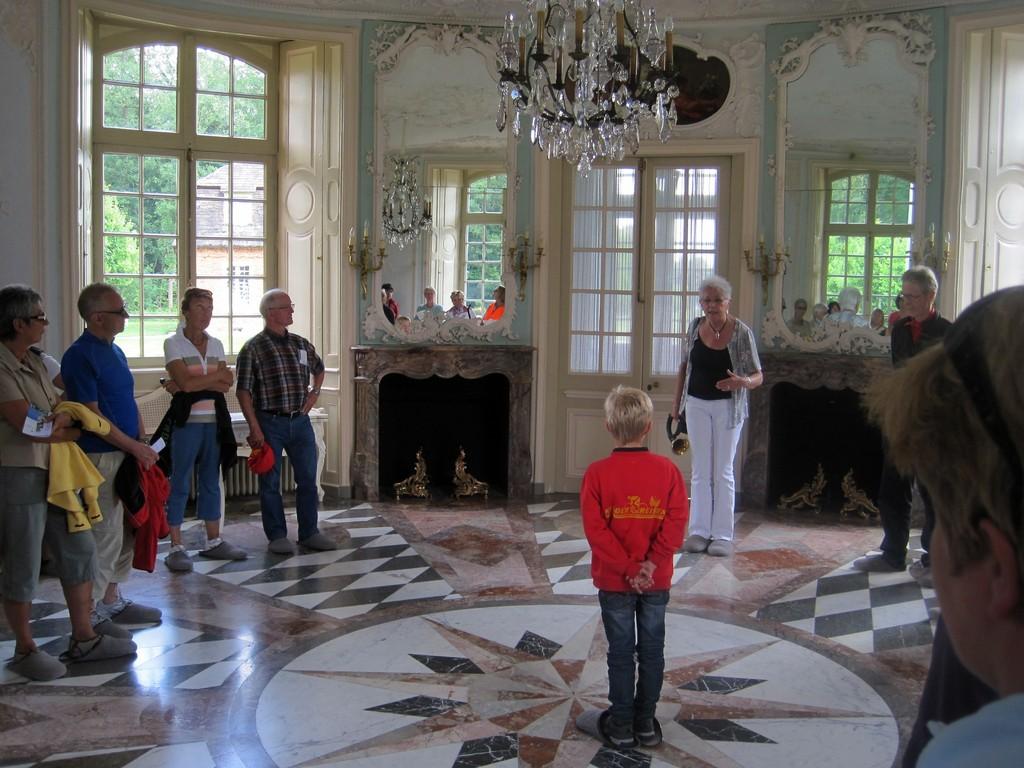 großer Saal Schloss Clemenswerth bei Sögel