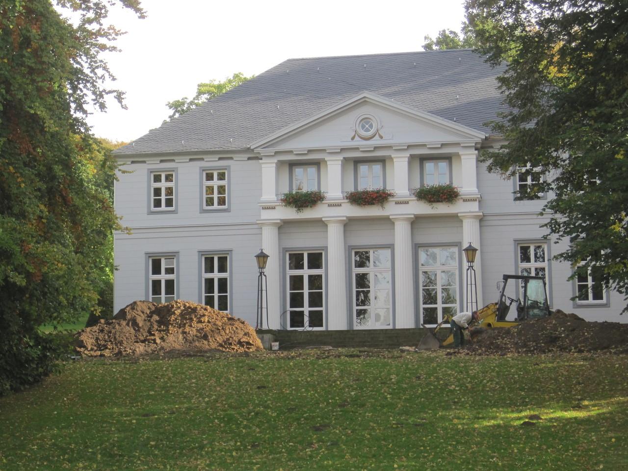 Schlösschen in Bad Nenndorfer Kurpark