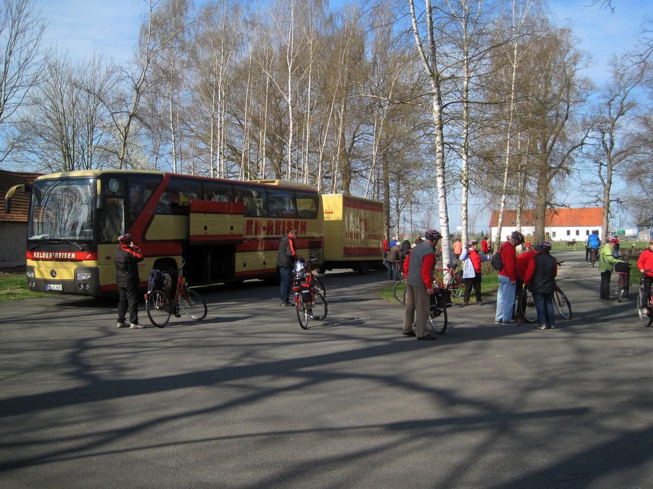 Startplatz in Stemwede-Destel