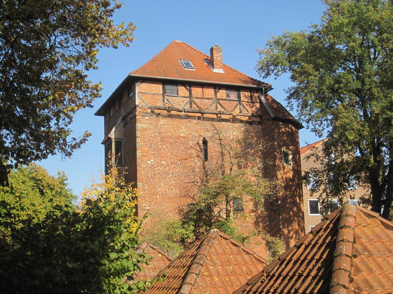 Stockturm - Wohn- und Wehrturm der alten Wasserburg