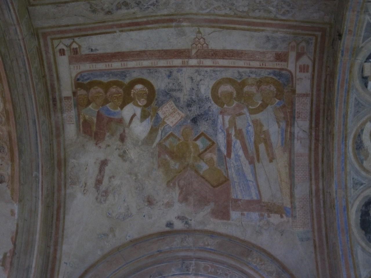 Deckenmalereien in der Pilgerkirche