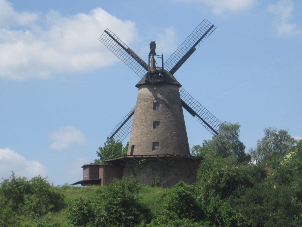 Pottmühle in Petershagen - letzte erbaute Windmühle im Kreis - von 1938