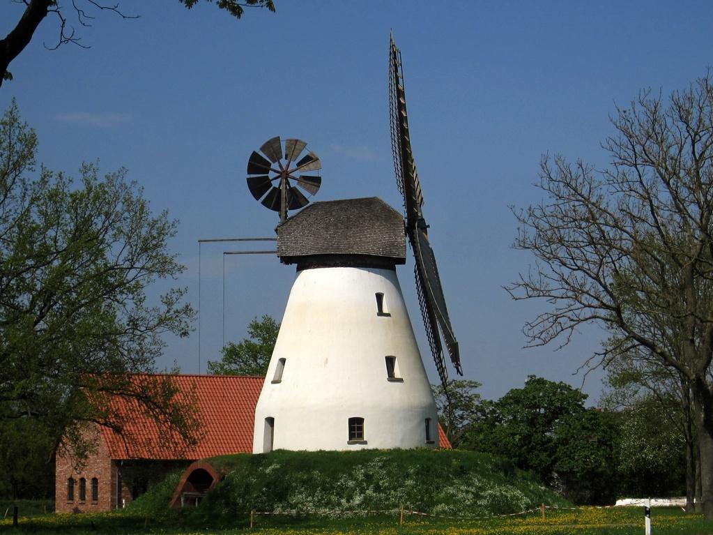 Windmühle Heimsen - Wall-Holländer von 1873