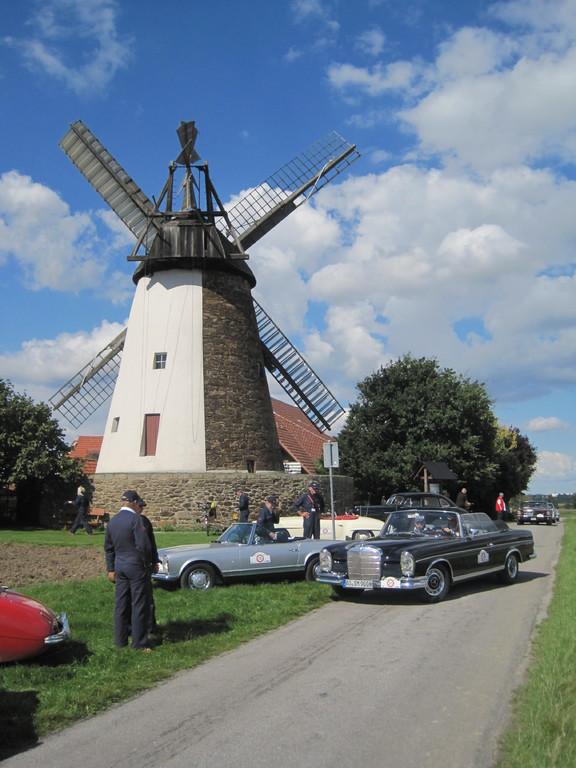 Storck's Mühle in Eickhorst mit je 2 Segel-  und 2 Jalousieflügel
