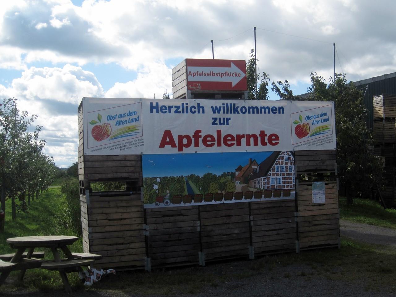 Willkommen zur Apfelernte