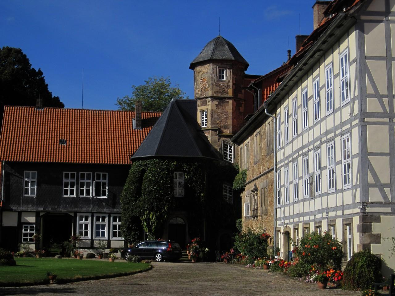 Wasserschloss Münchhausen in Apelern