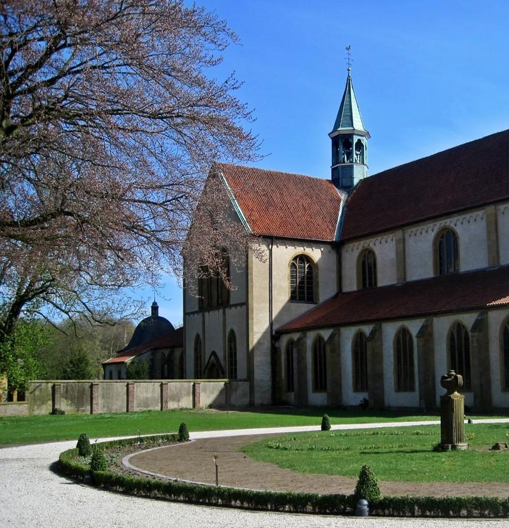 Zisterzienserkloster Marienfeld von 1185 n. Chr.