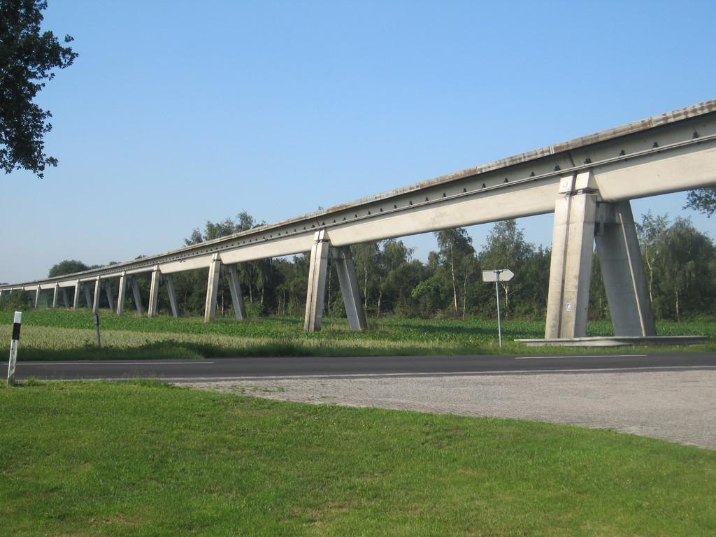 Transrapid Magnetschnellbahn im Emsland