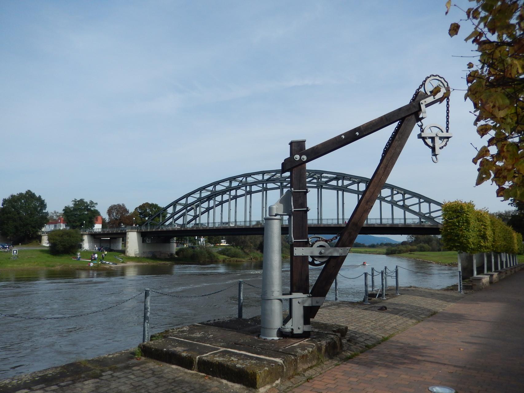 Hindenburgbrücke in Rinteln