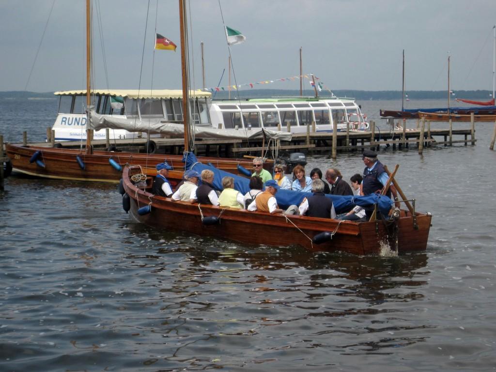 Auswanderer-Boote im Steinhuder Meer