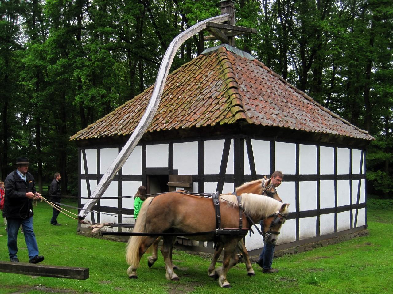 Rossmühle im Museumshof Rahden von 1860