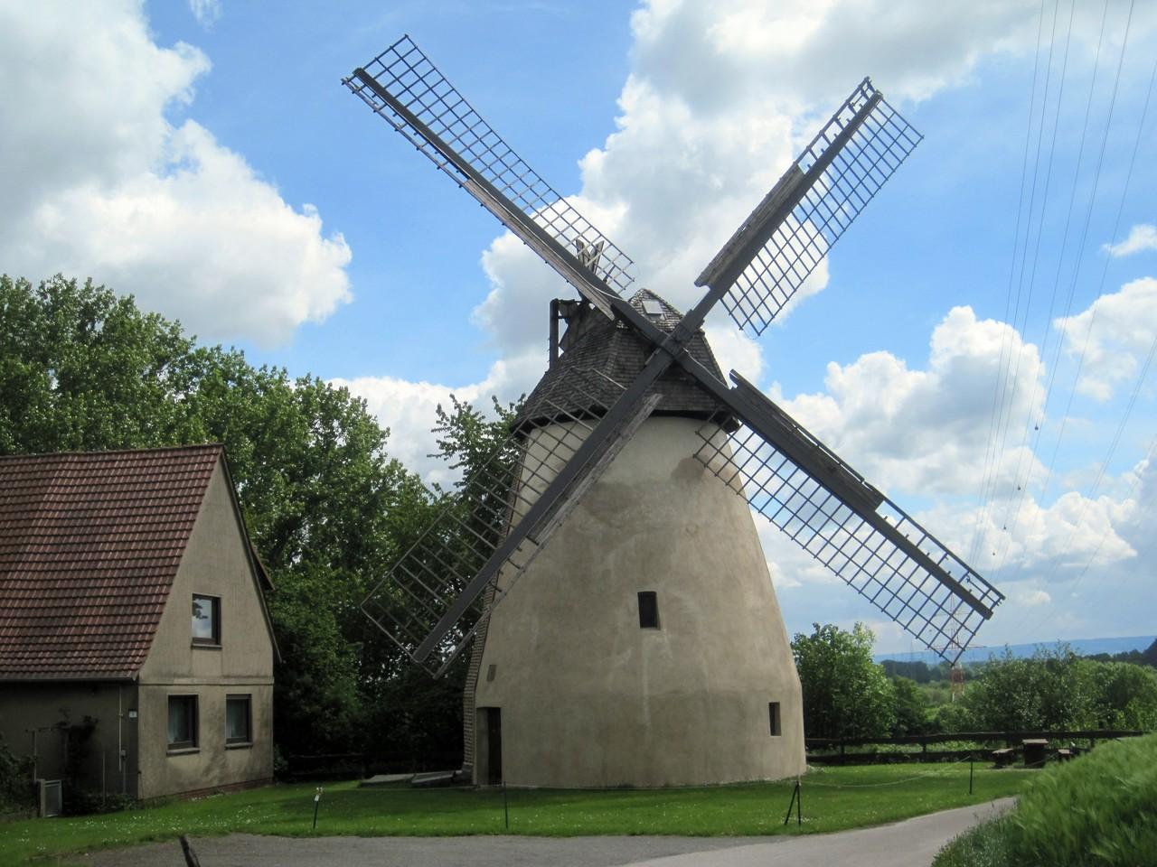 Valentins Mühle in Todtenhausen - Erd-Holländer von 1858