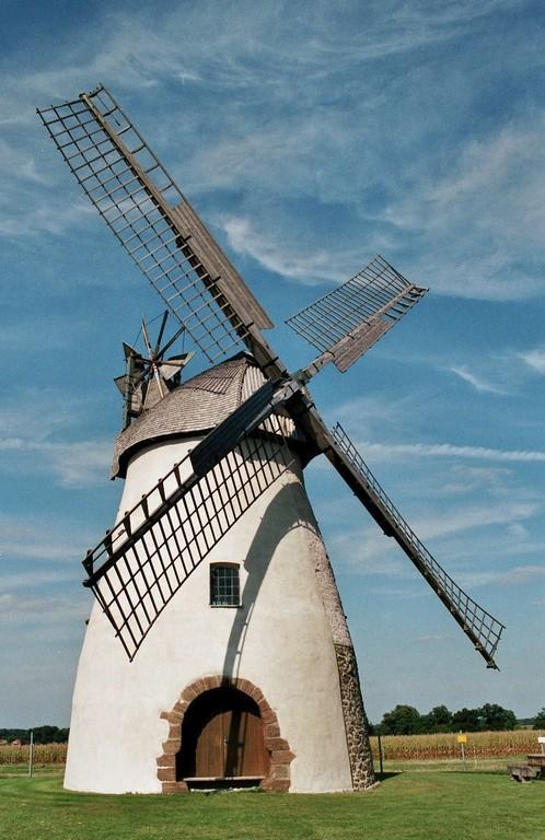 Mühle auf der Höchte in Hille