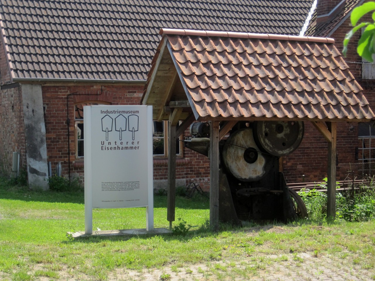 Industriedenkmal Untere Eisenhammer