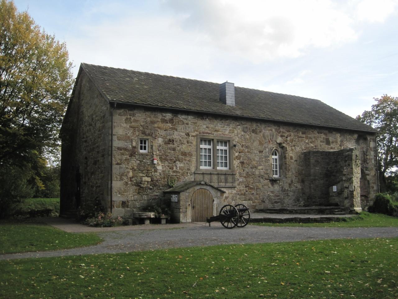Ständehaus der ehemaligen Burg Rodenberg