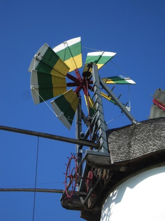 Windrosenblätter in den Ortsfarben von Stemmer