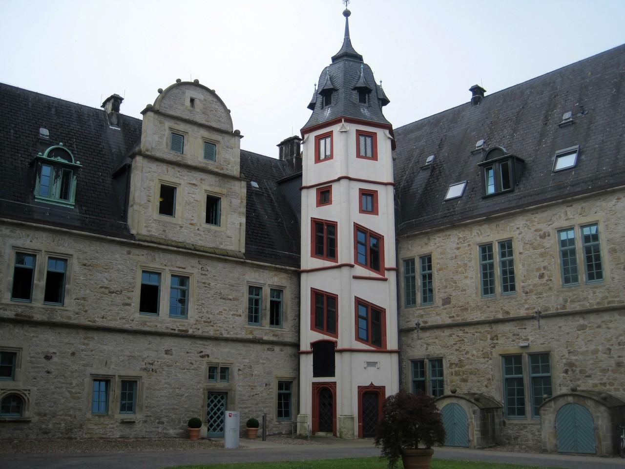 Treppenaufgang - Schloss Stadthagen