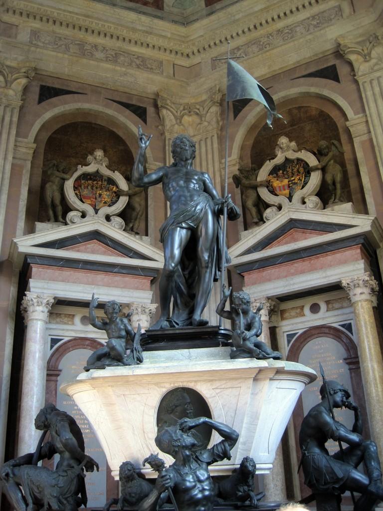 Grab- und Auferstehungsmonument von Adriaen de Vries