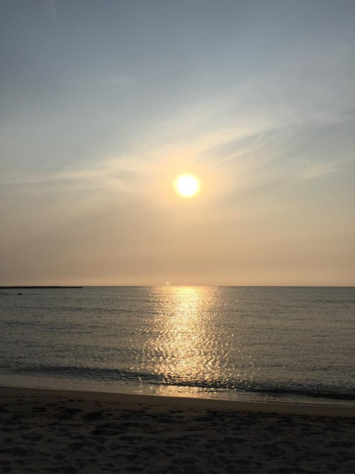 ☆6/14サンセットヨガ☆ 美しい夕陽