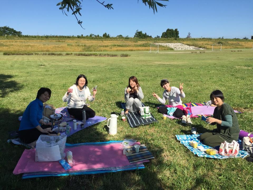 ☆6/7朝ヨガ☆ お外ごはん♪