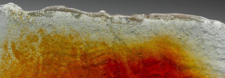 Fusion orange détail bDétail fusion rouge
