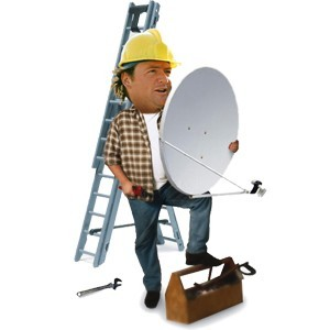 Установка спутниковой антенны в Могилеве