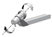 Как определить направление на спутник поворот конвертора