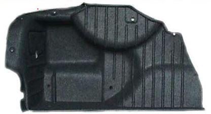 Fianchetto posteriore baule con struttura portante  in PP/Natural Fiber