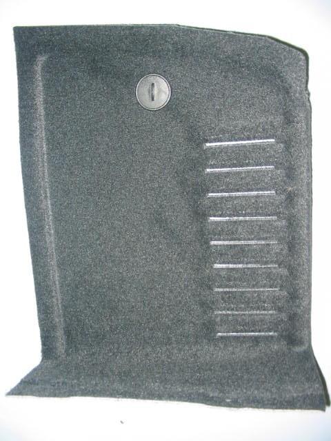 Fianchetto laterale  baule con struttura portante  in PP/Natural Fiber  e fori sfogo aria