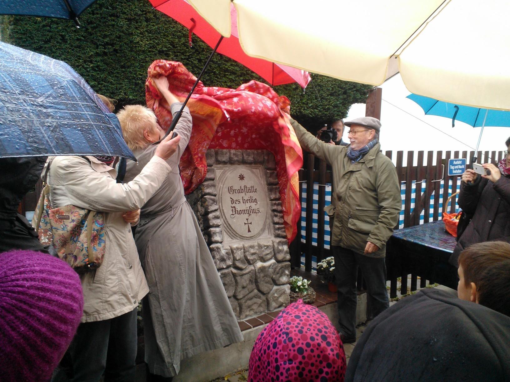 Das Dionysius-Denkmal in neuem Glanz