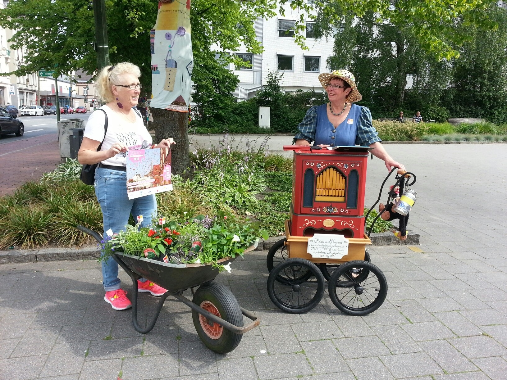 """Grünes aus dem Klushof"": Projekt zum Leher Kultursommer"