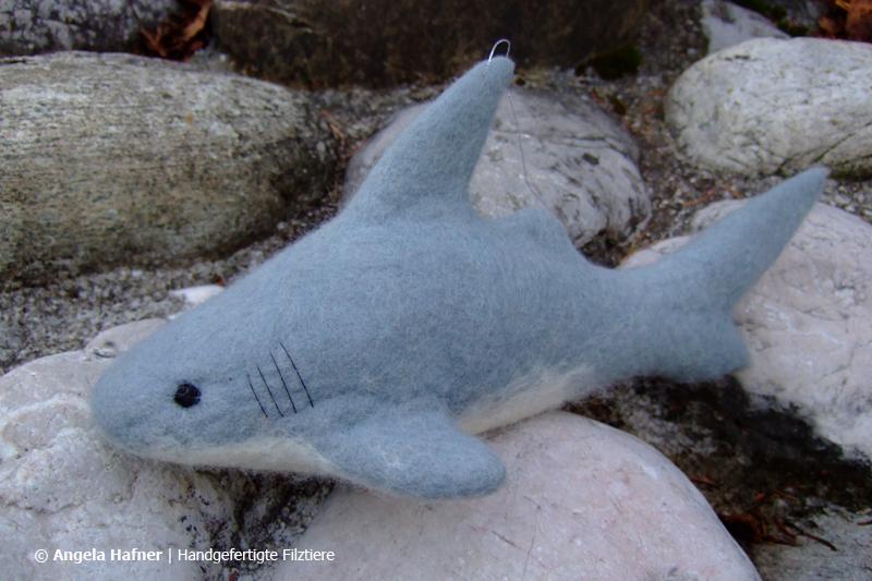 Hai aus Filz