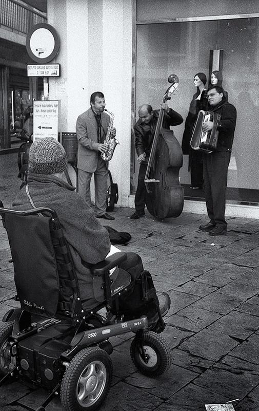 Bebop callejero. Sevilla
