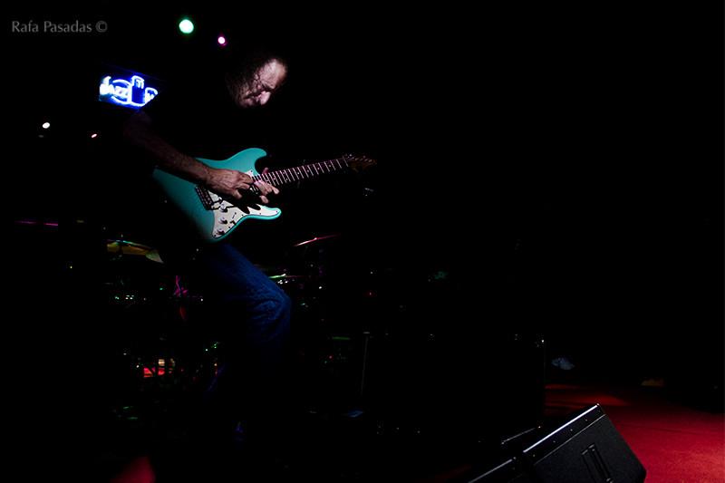Scott Henderson en el circulo de las letras Lugo. Festival de jazz de Lugo. Nov 2014